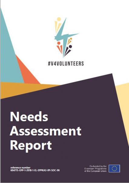 needs assessment report cover